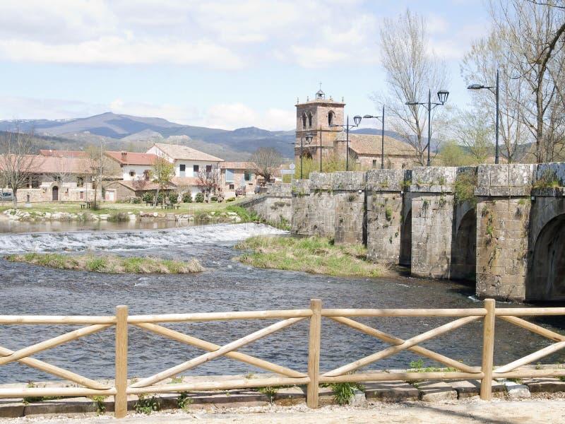 Medieval bridge stock image