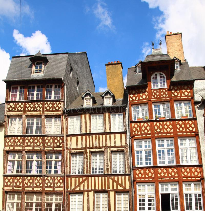 Medieval buildings stock photos