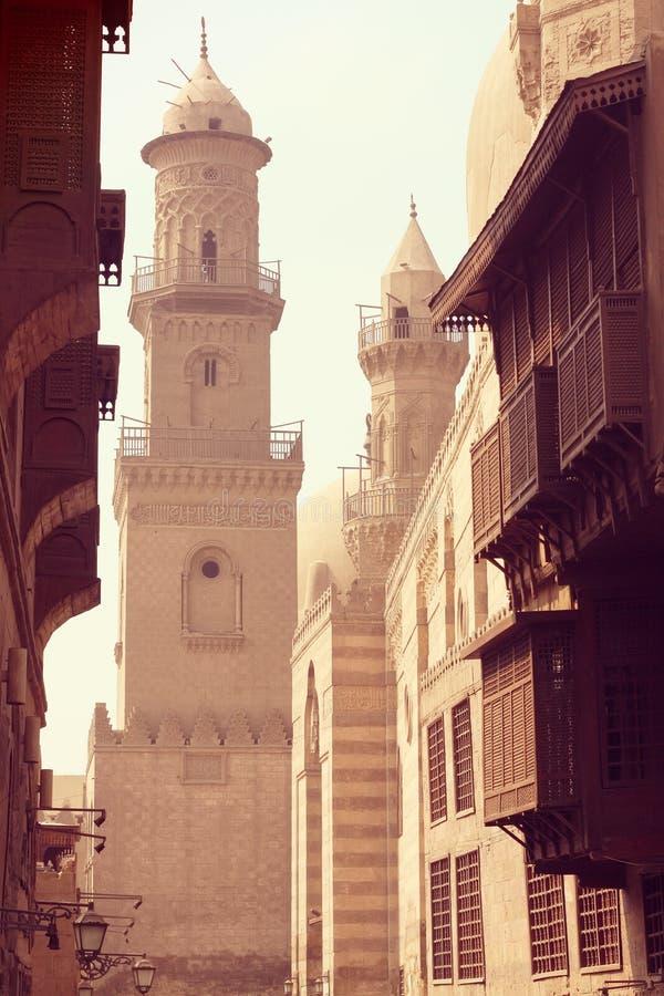 Medieval Cairo cityscape. Architecture of medieval Cairo cityscape royalty free stock photography