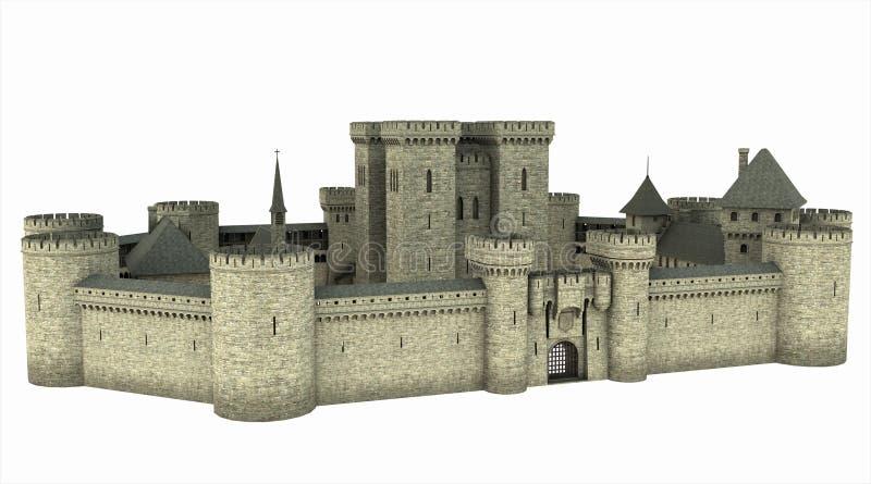 Medieval Castle royalty free illustration