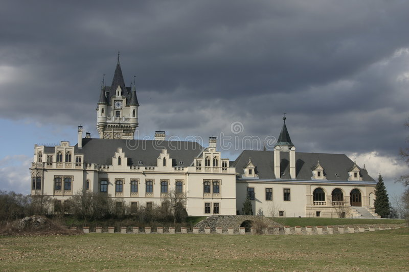 Download Medieval castle stock photo. Image of people, blue, travel - 643494