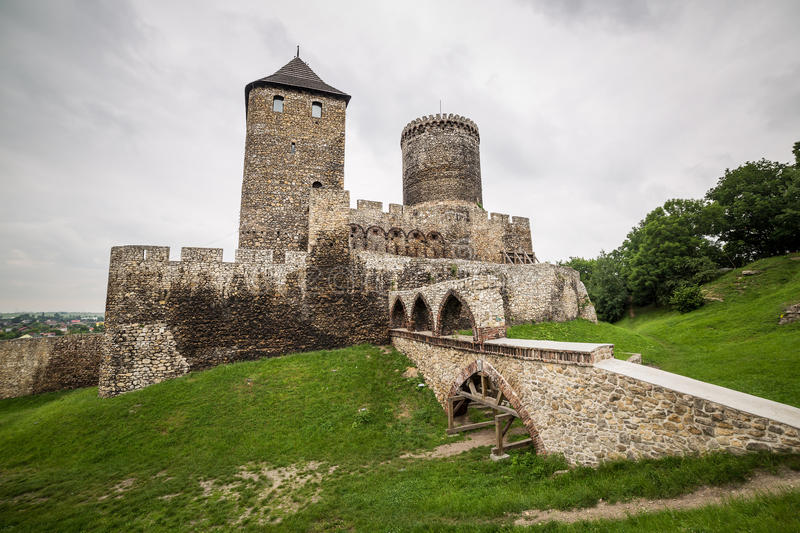 Download Medieval castle in Bedzin stock image. Image of landscape - 31979307
