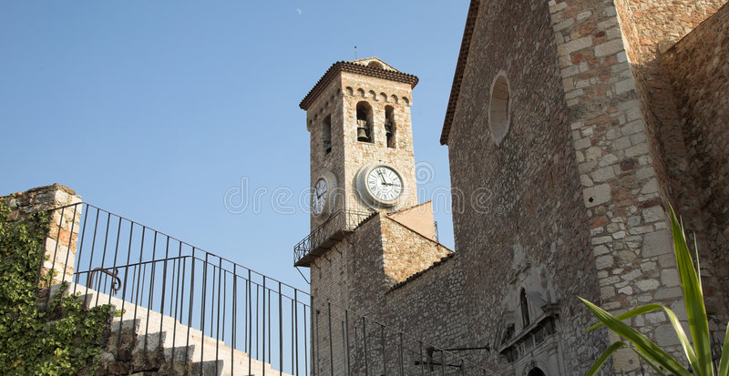 Download Medieval castle in Cannes stock photo. Image of aged, bell - 610606