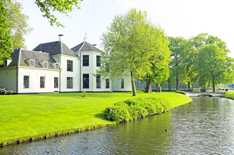 Medieval castle in the countryside from Netherlands. Medieval castle in the countryside from the Netherlands stock photo