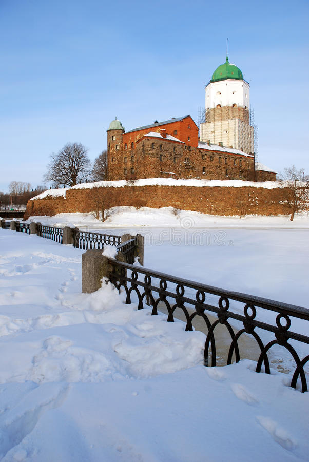 Free Medieval Castle In Vyborg. Stock Photo - 24751170