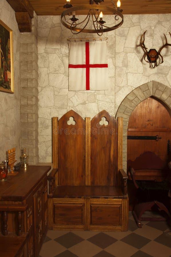 Medieval Castle Interior Stock Photo