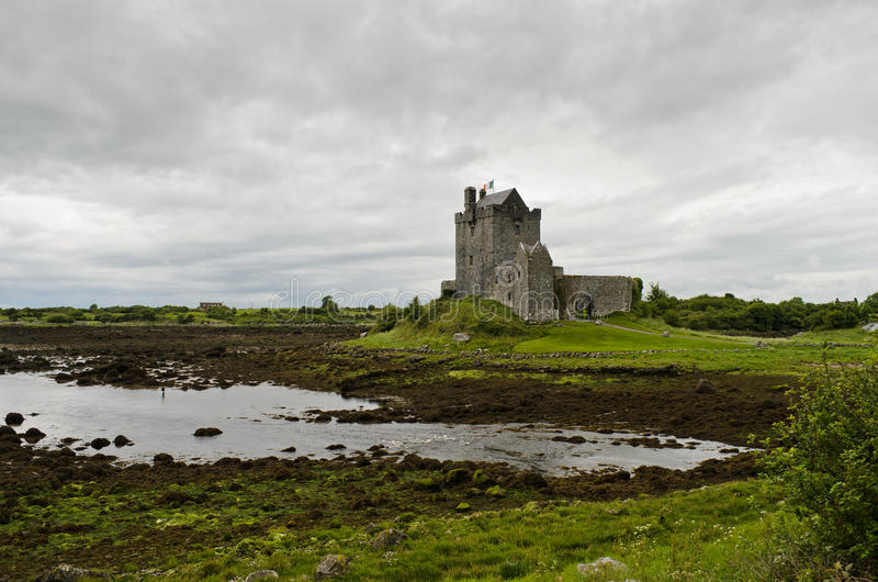 Medieval castle in Ireland royalty free stock photos