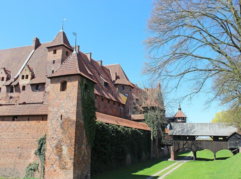 Download Medieval Castle In Malbork / Marienburg. Poland Stock Image - Image: 30835249