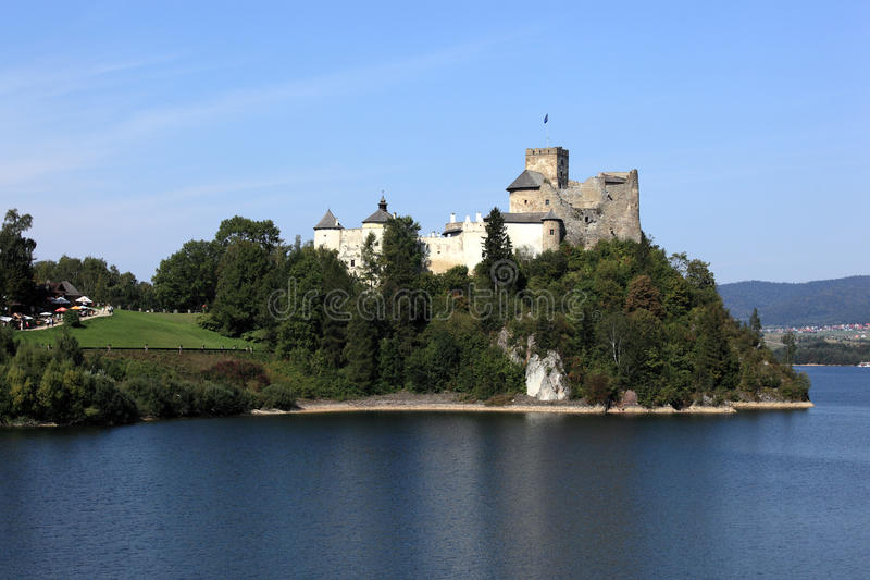 Medieval castle in Poland stock images
