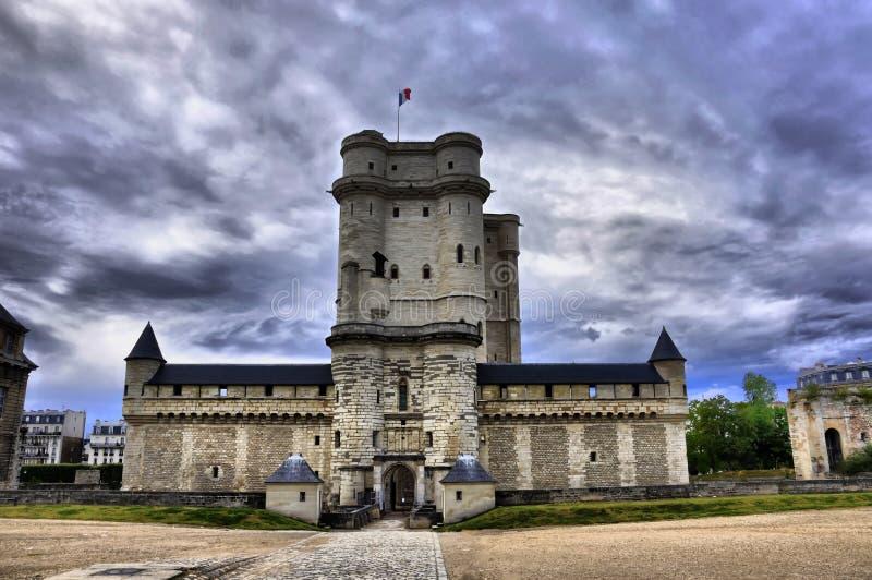 Download Medieval Castle Vincennes HDR Stock Image - Image: 13509131