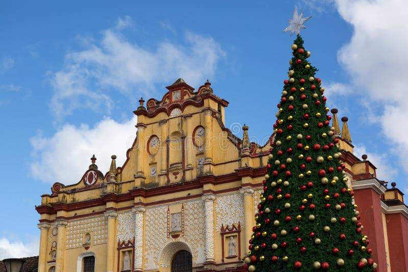 Medieval Catholic Church With Christmas Tree Stock Photo Image  - Medieval Christmas Tree
