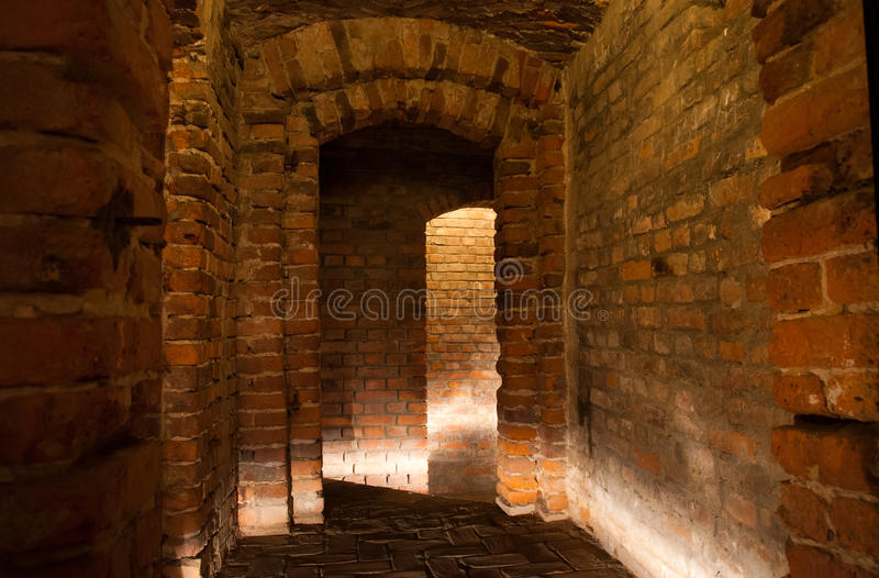 Medieval cellar royalty free stock images