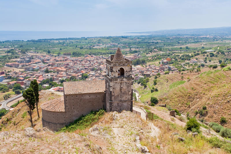 Download Medieval Chapel And View On Seacoast Stock Photo - Image: 21482580