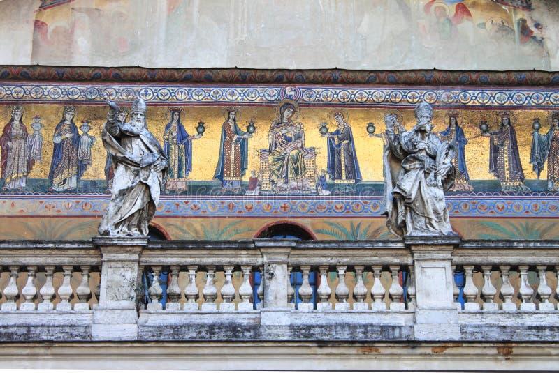 Medieval Christian Mosaics Stock Photography