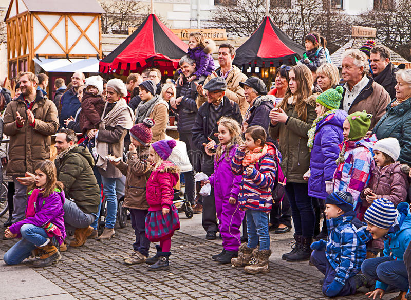 Medieval Christmas Market, Munich Germany Editorial Photo ...