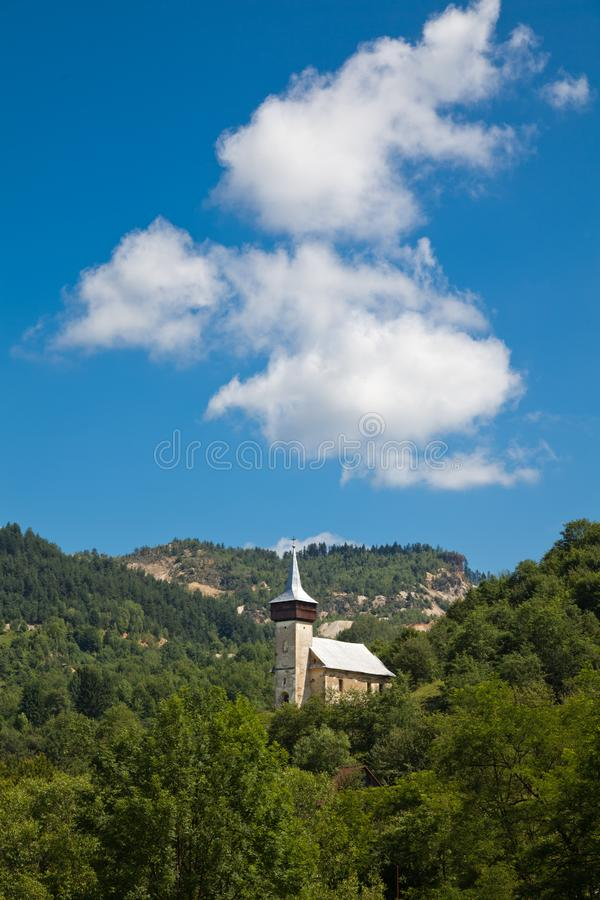 Download Medieval Church In Corna Village Stock Image - Image of countryside, scenery: 15222005