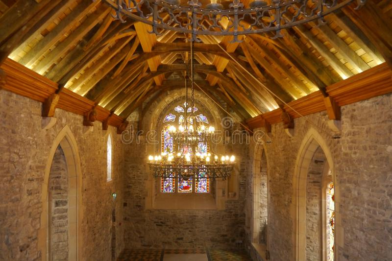Medieval Church Dublin Ireland royalty free stock photos