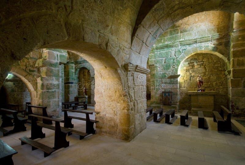 Medieval church. San Giovanni di Sinis, a medieval church in Sardinia (Italy stock images