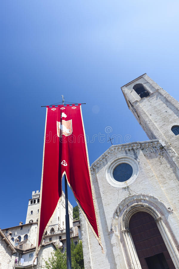 Download Medieval Church In Umbria In Italy In Summer Stock Image - Image: 15157757