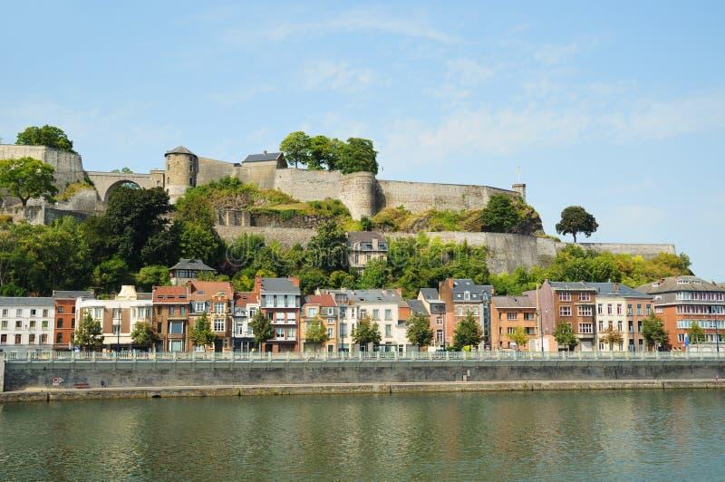 Medieval citadel in Namur, Belgium royalty free stock photo