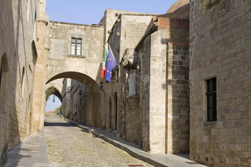Download Medieval City Of Rhodes Island At Greece Stock Photo - Image: 13112986