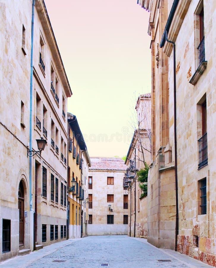 Medieval city of Salamanca stock photos