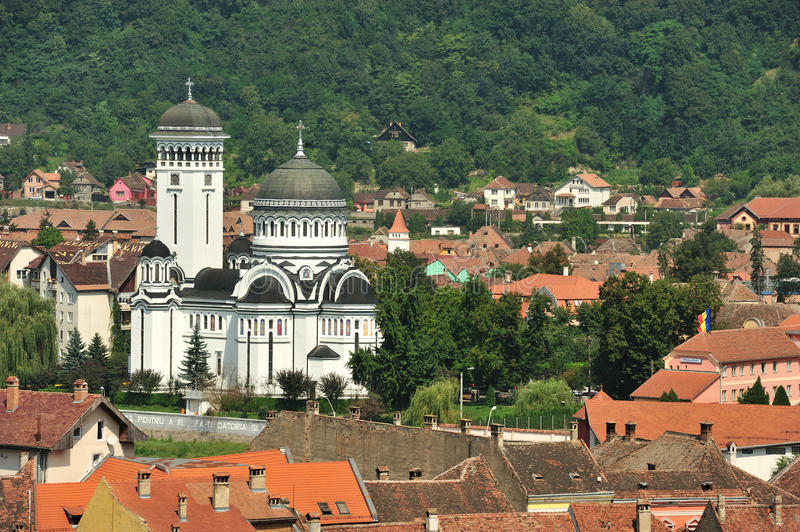 Download Medieval City Of Sighisoara-The Orthodox Cathedral Stock Image - Image: 17251697