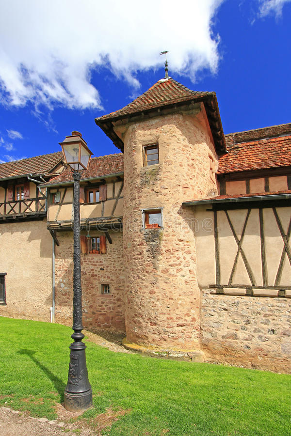Download Medieval City Walls Of Riquewihr, Alsace, France Stock Photo - Image: 26388326