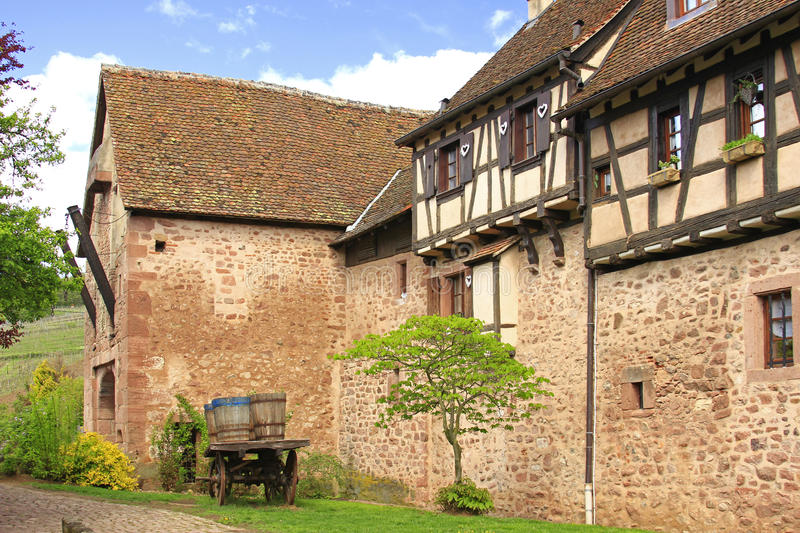 Download Medieval City Walls Of Riquewihr, France Stock Photo - Image: 26429902