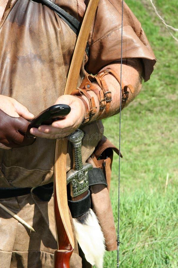 Medieval communication? stock photo