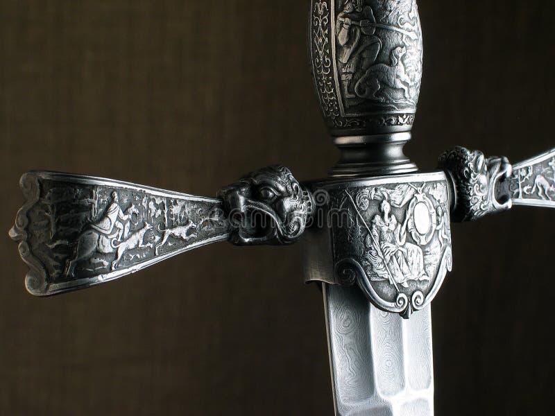 Medieval dagger.  royalty free stock photos