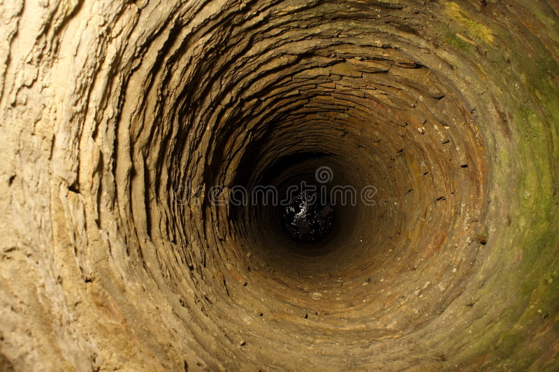 Medieval deep well royalty free stock photography