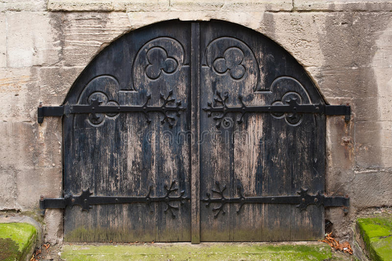 Medieval Doors royalty free stock photos
