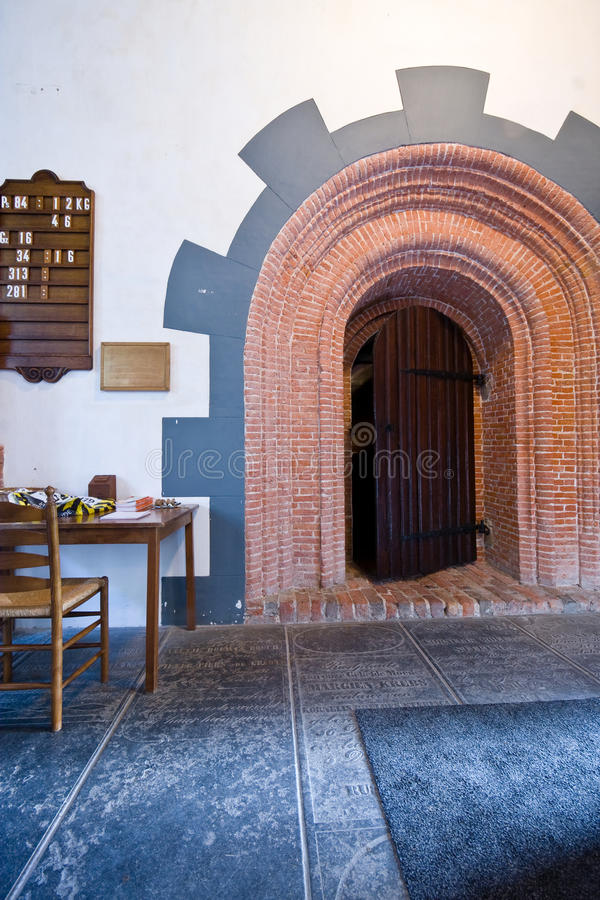 Download Medieval doorway stock image. Image of doorway, frisian - 25739245
