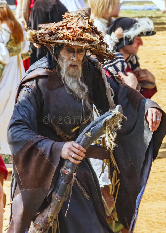 Free Medieval Druid Stock Images - 73377464