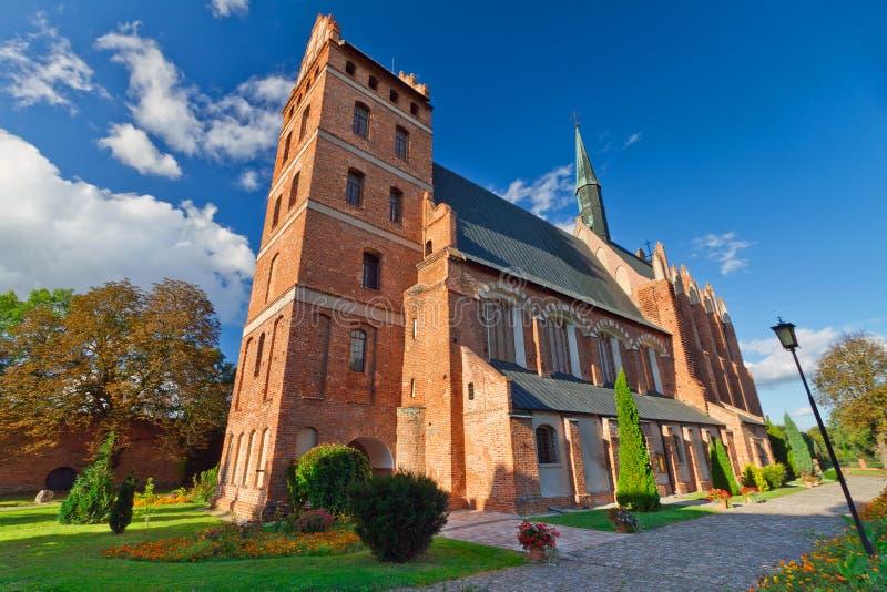 Medieval Fara Church in Swiecie stock photos