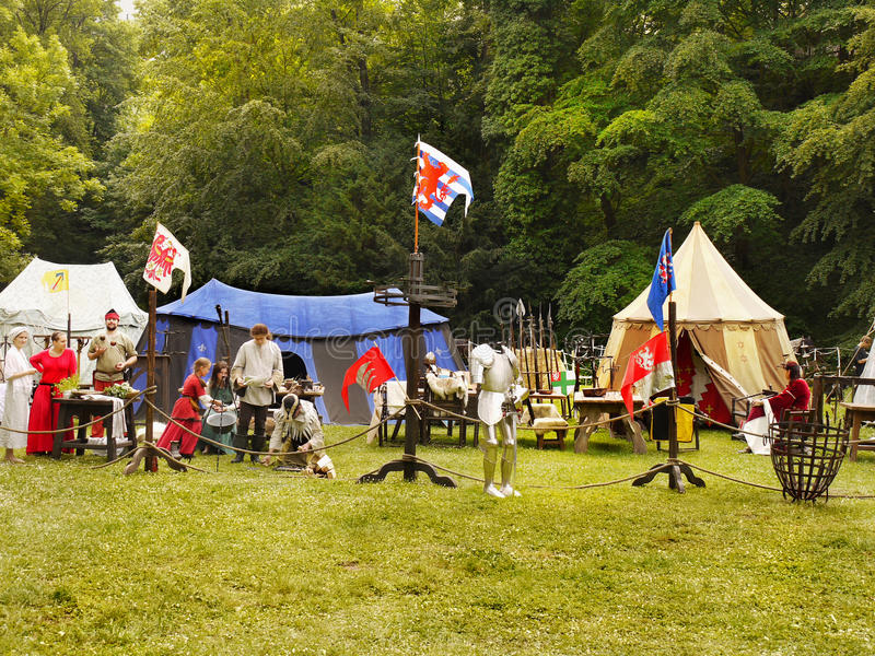 Medieval Festival royalty free stock images