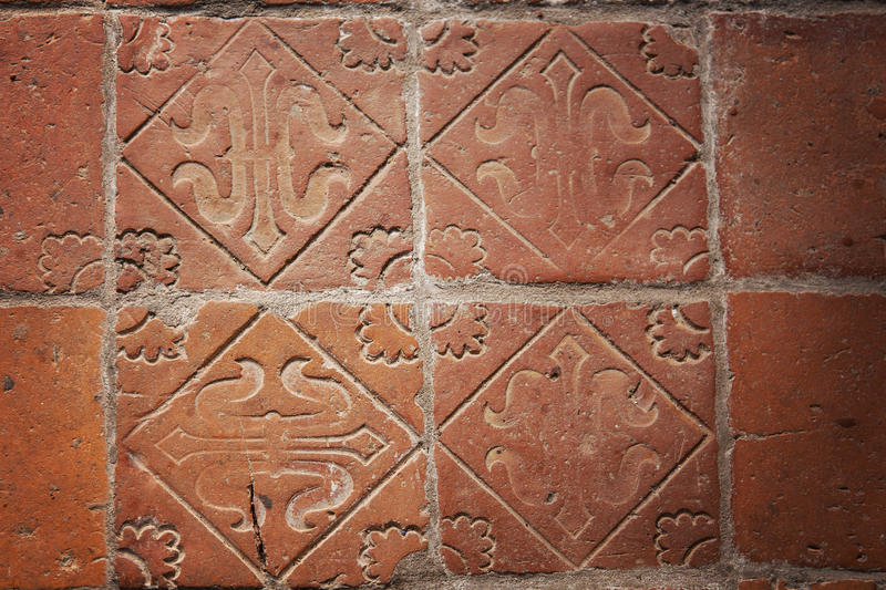 Medieval floor tiles stock photo. Image of antique, architecture ...