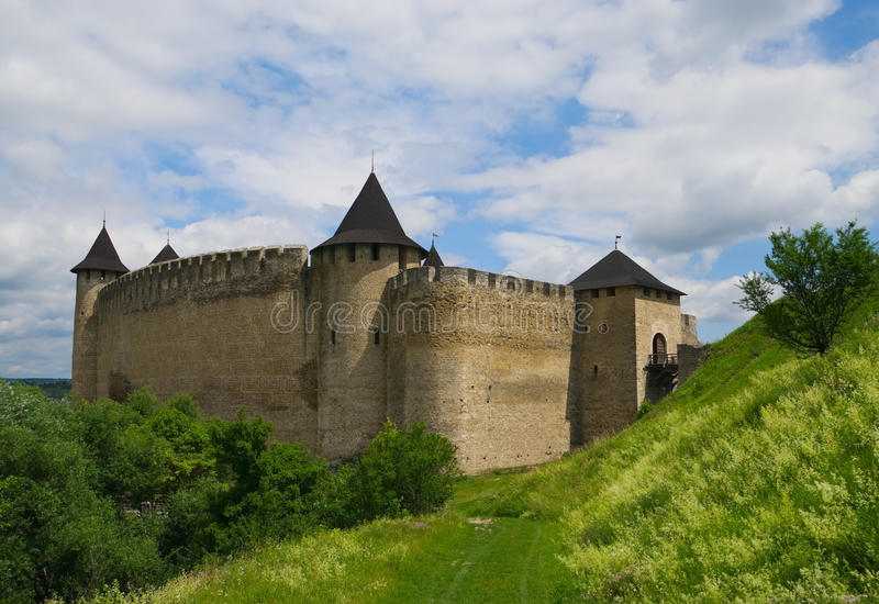 Download Medieval fortress stock image. Image of ukraine, medieval - 25422823