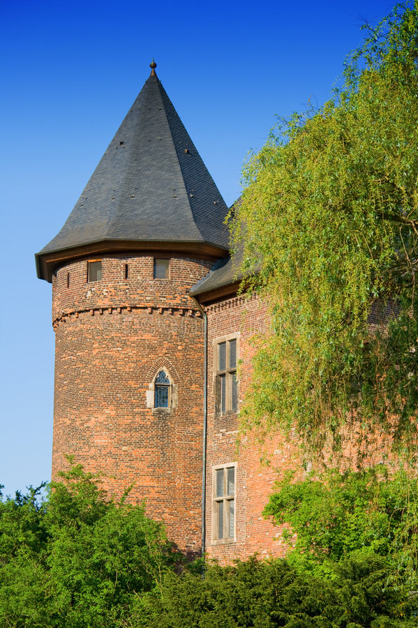 Medieval Fortress stock image