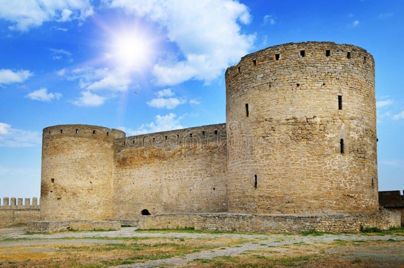 Medieval fortress (Ackerman Ukraine). A medieval fortress (Ackerman Ukraine stock photography