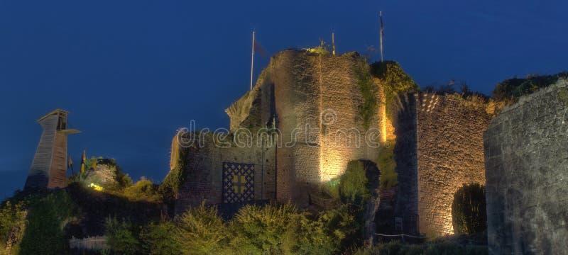 Barbe-Bleue castle in Tiffauges royalty free stock image