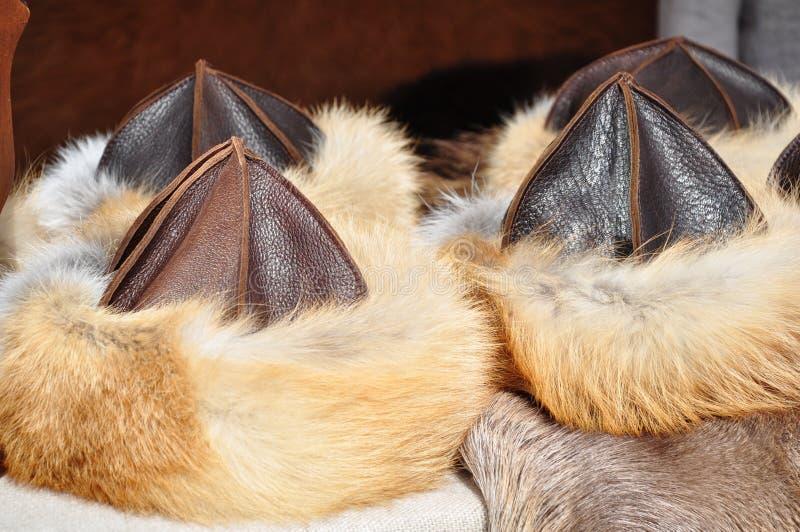 Download Medieval Fur Caps At Market Stock Photo - Image: 26529938