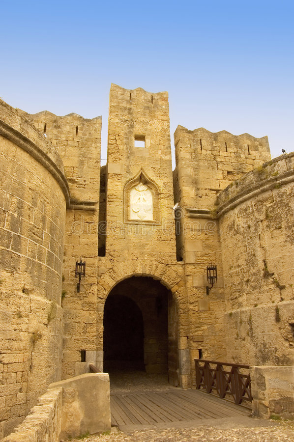 Download Medieval gate stock image. Image of style, architecture - 2609165