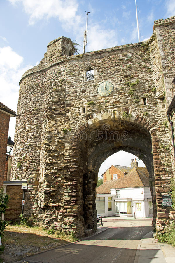 Free Medieval Gate In Rye Royalty Free Stock Photos - 76096578