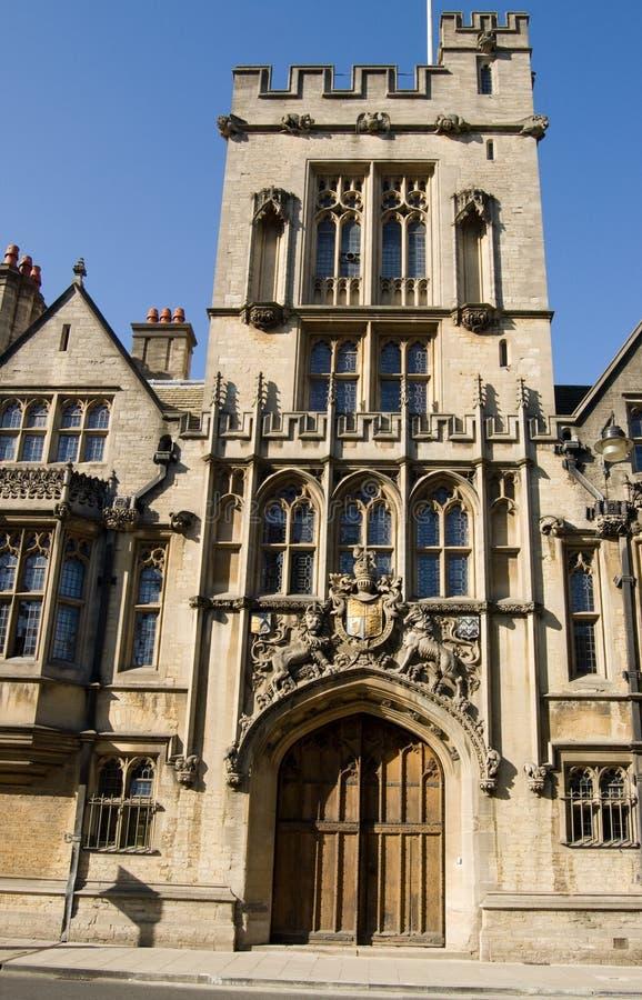 Download Medieval Gatehouse, Brasenose College, Oxford Stock Image - Image: 24596043