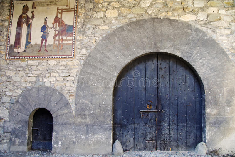 Download Medieval gates stock photo. Image of closed, corridor - 26361392