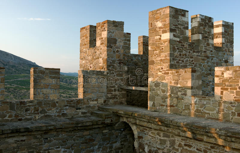 Download Medieval Genoese Stronghold Stock Image - Image: 24979985