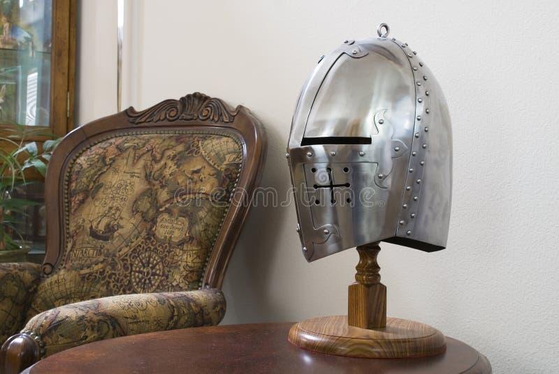 Medieval Helmet stock image