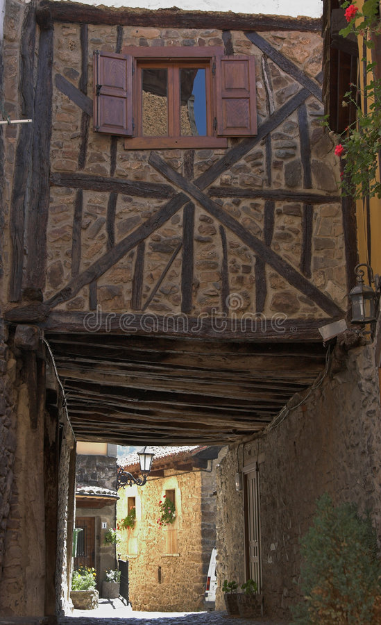 Medieval house royalty free stock photo